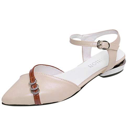 Wawer -Mode Mary Jane Frauen Sandalen-Große Damenschuhe Frauen Espadrilles Lässig Sandalen Strandschuhe Einzelne Schuhe High Heels