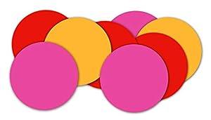 Braun & Company 3905-0199 - Confeti en Bolsa, Color Rojo, Rosa y Naranja