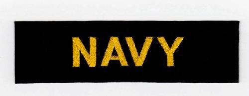 Aufnäher Bügelbild Aufbügler Iron on Patches Applikation Army Navy Armee USA Abzeichen