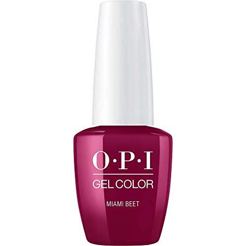 OPI GelColor Esmalte De Gel De Uñas Color Miami Beet