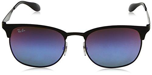 Ray-ban - Mod. 3538  - Lunettes De Soleil Unisex-Adult, taille 53 BLACK/MATTE BLACK