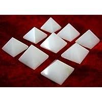 Viel 9weiß Achat lose Pyramiden Kristall Bagua Heilung Wellness Positive Energie Home Office Vaastu Geschenk... preisvergleich bei billige-tabletten.eu