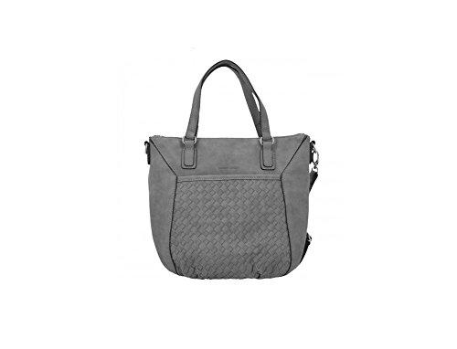 Handtasche Weave grey cm 32 II Weber Gerry qt4OvH6O