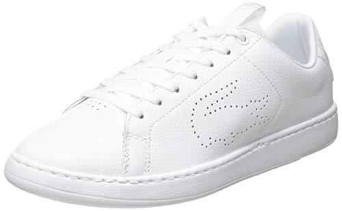 Lacoste Damen Carnaby Light-wt 319 1 SFA Sneaker, Weiß (White/White 21g), 36 EU