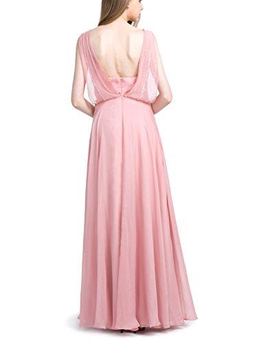 Find Dress Robe Demoiselle d'Honneur Femme/Fille Rose Robe de Mariée Princesse Femme Dos Nu Robe de Cocktail Femme Longue pour Mariage Grande Taille Sexy Robe Bal de Promo Pers