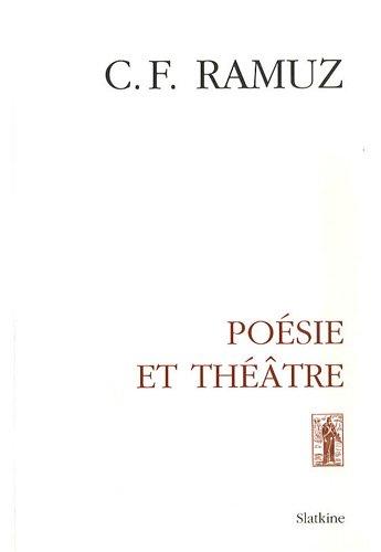 Oeuvres complètes : Volume 10, Poésie et théâtre