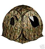 Riverside Outdoor Camo Protector 2 Pop Up Hide Decoying Photography Tent