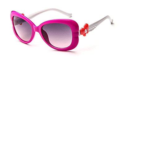 O-C Damen Sonnenbrille Pink frame, blue amrs