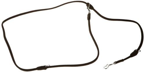Karlie Buffalo Rund Führleine, 6 mm, 200 cm, schwarz -