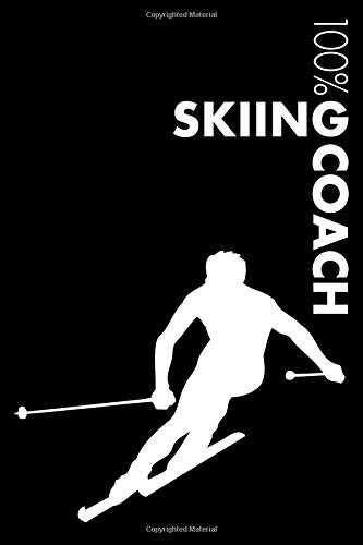 Skiing Coach Notebook: Blank Lined Skiing Journal For Coach and Player