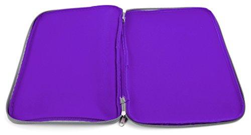 DURAGADGET Wasserabweisende Hülle für MSI WS72 Workstation Laptops (Violett)