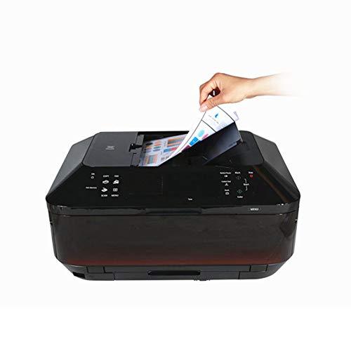 Automatische Inkjet (FASBHI Fotodrucker, Farbfotodrucker automatische doppelseitige Multifunktionsdruck und Kopieren Handy WiFi Inkjet-Maschine für den Büroeinsatz)