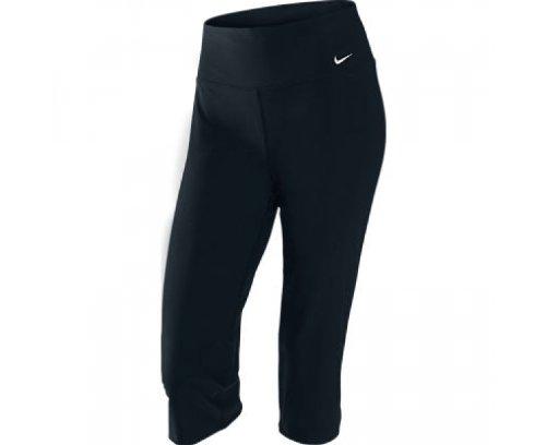 Nike Damen Caprihose Legend Regular Poly, Black/cool Grey, M, 440680-010 -