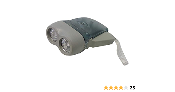 Hypadrive Mini Wind Up Torch-No Batteries Required
