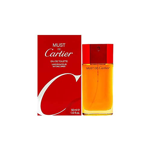 Cartier Must de Cartier, Eau de Toilette, 50 ml -