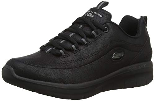 Skechers Synergy 2.0, Sneaker Donna, Nero (Black BBK), 38 EU