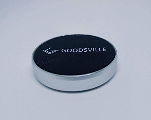 [Upgraded]Goodsville Car Phone Holder Magnetic one Touch with 360 Degree Rotation for Dashboard for All Smartphone