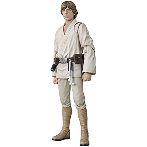 BANDAI S.H Figuarts Star Wars Luke Skywalker (A NEW HOPE)?€about 150mm ABS u0026 PVC painted action figure by Bandai