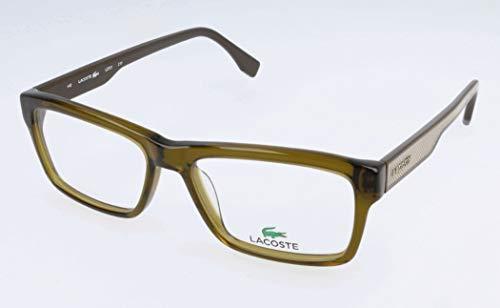 Lacoste Herren L2721 Brillengestelle, Grün, 43