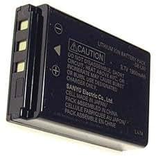 Batterie Appareil Photo pour SANYO Xacti VPC-HD1010