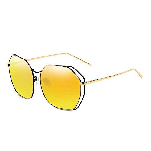 ZCFDDP Sonnenbrille Polarisierte Sonnenbrille Classics Fashion Shield Anti Uv400 Qualität Frauen Farben Eyewear 2018 New Driving BrilleBeschichtung Orange -