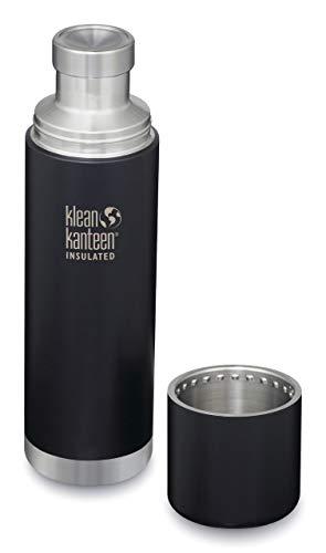 Klean Katneen - Thermal Kanteen - Thermo Flaschen (1000ml, matt schwarz)