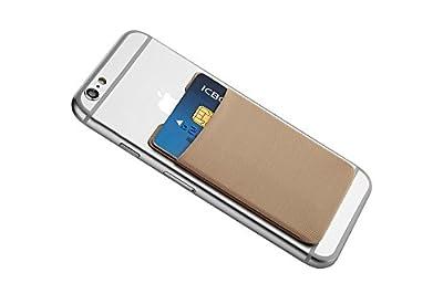 Kartenhalter für das Smartphone - Mobile Brieftasche / Geldbeutel / Geldbörse / Portemonnaie - Etui für Kreditkarten / EC-Karten / Visitenkarten / Kopfhörer / Geldscheine und vieles mehr