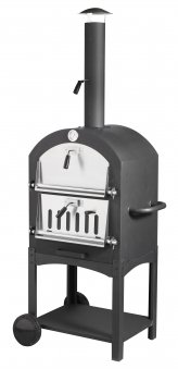 PIZZA OVEN, BREAD OVEN SMOKER & BBQ, OUTDOOR WOOD-FIRED / CHARCOAL FIRED