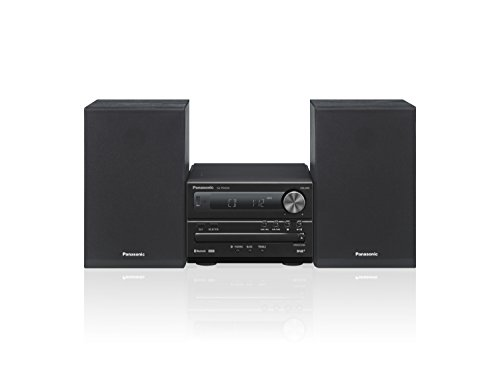 Panasonic Micro HiFi System SC-PM254EG-K (20 Watt RMS, CD,UKW, Bluetooth, schwarz)
