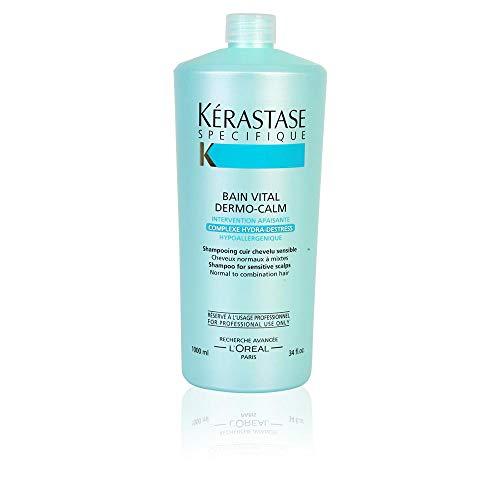 Bain Riche Shampoo (Kérastase Vital Hte, Tolerance Shampoo, 1000 ml, 1er Pack, (1x 1 Stück))