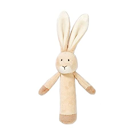 Teddykompaniet Rabbit Boy - Girl Animal Plush Rattle Comforter Soft Toy