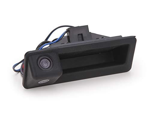 120 Grad Dashacam Auto Rückfahrkamera,IP68 Wasserdicht Rückfahrkamera Kennzeichen Nummernschild Autokamera für BMW X1 X3 X5 X6 E53 E60 E61 E70 E71 E82 E83 E84 E88 E90 E91 E92 E93