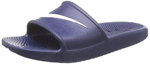 Nike KAWA Shower, Zapatos de Playa y Piscina Unisex Adulto, Blanco Blanco 832528 400, 44 EU