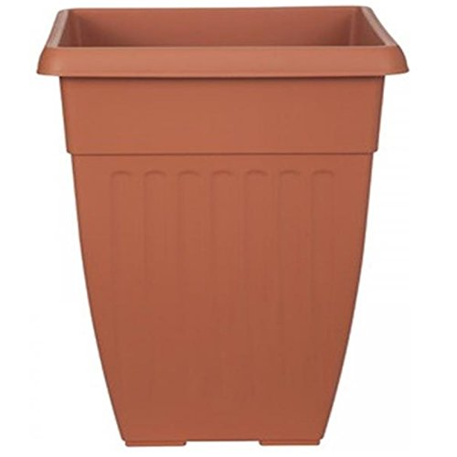 terracotta-42cm-tall-plastic-garden-patio-planter-flower-plant-pot-tub-basket