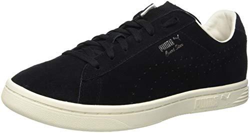 Puma Unisex-Erwachsene Court Star Suede Interest Sneaker, Schwarz Black-Whisper White 01, 40 EU (Schwarz Puma Suede)