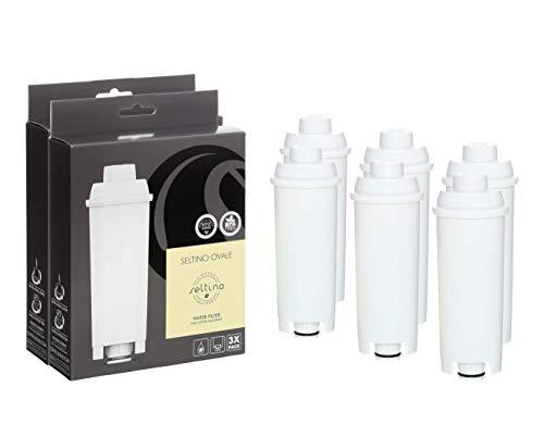 Seltino 6X OVALE Kompatible Delonghi SER3017 Kaffeemaschine Wasserfilter. Filterpatrone für Delonghi SER3017 DLS C002 551329811. 2X 3er-Pack !!!