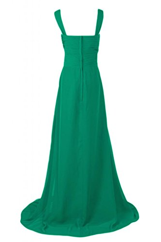 Sunvary Graceful Empire Style-abiti da damigella d'onore Pageant Gowns abito da donna Verdone