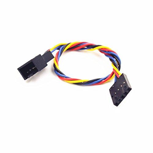 5Pin weiblich Stecker 4pol Buchse Anschluss Klinke PWM Lüfter Power Kabel für Dell PC