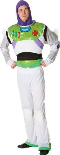 stüm für Herren M (Buzz Lightyear Erwachsene Kostüme)