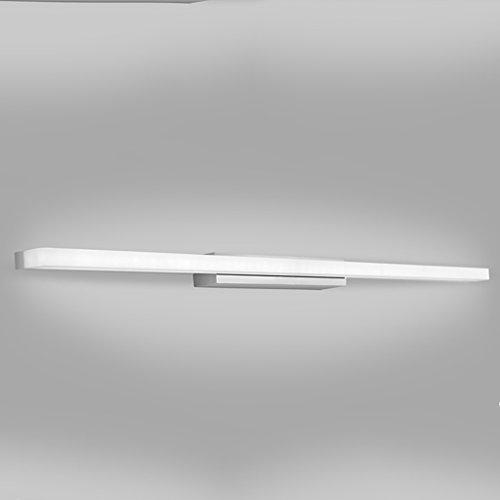 Fu Man Li Trading Company LED de baño de maquillaje simple espejo de luz frontal A+ ( Tamaño : 40cm )
