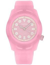 5abe84e2e64 Montre Analogic Goldfish Transparent Pink. Montre analogique pour enfants  avec bracelet en silicone
