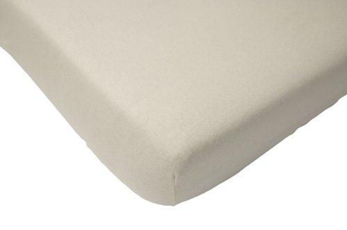 Jollein 510-504-00001 - Sábana bajera (50 x 90 cm, algodón), color blanco