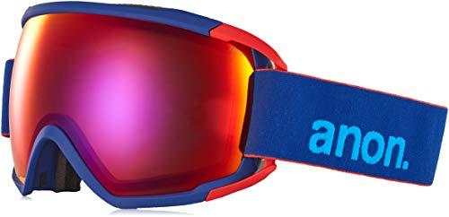 Anon Herren Circuit Snowboardbrille, Blue/Sonar Infrare