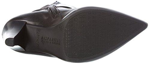 HispanitasEIFFEL - Stivali alti non imbottiti Donna Nero (Soho-I6 Black Antique-I6 Black)