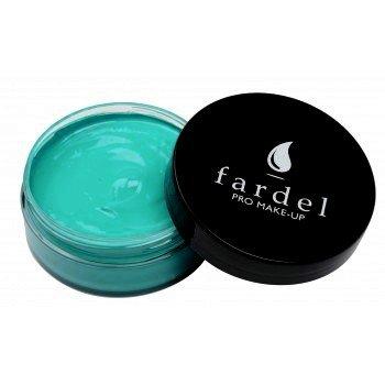 Maquillage Professionnel Fardel Crème couleur bleu turquoise couleur bleu turquoise n°135 [198658n°135]