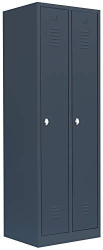Metall Spind Spint Stahl Kleiderschrank Garderobenschrank Umkleide 510120D kompl. montiert und verschweißt