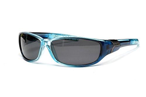 X-Loop Gafas de Sol Polarizadas - Gafas de Deporte y Ciclismo - UV400 (UVA y UVB) (Blue)