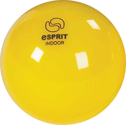 Neu Esprit Streichholz Quality Praxis & Training Indoor Spiel Hockeyball Gelb