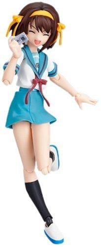 La mélancolie de Haruhi Suzumiya uniforme scolaire ver.(Figma Action ABS/PVC Figurine)