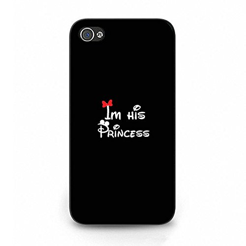 Boyfriend and Girlfriend Lovers Iphone 4/4s Case Luxury Unique Prince Princess Couple Phone Case Cover for Iphone 4/4s Coulples Classic Color096d